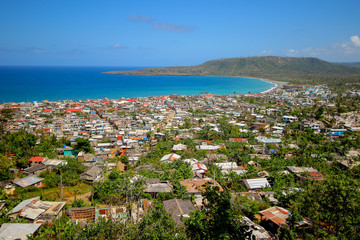 Baracoa from above in Cuba