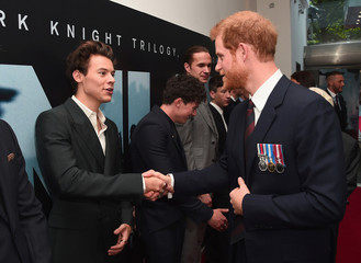 Actor Harry Styles and Prince Harry attend the 'Dunkirk' World Premiere at Odeon Leicester Square in London, Britain