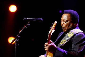 Jazz guitarist George Benson performs during the 51st Montreux Jazz Festival in Montreux