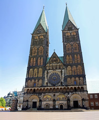St. Peter's Cathedral is evangelical church in Bremen, Germany.