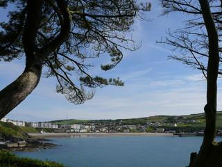 Strand von Port Erin auf der isle of Man