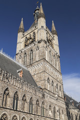 Belfry of the Cloth Hall of Ypres
