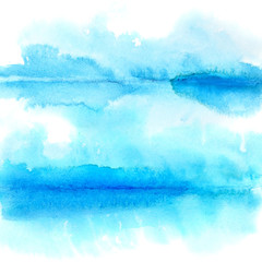 Watercolor background with folds