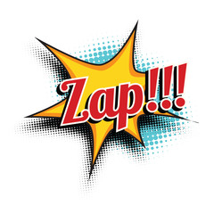 zap comic word