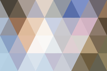 abstract triangles pastel gradient for background. geometric style