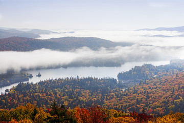 Canadian Autumn in Mont Tremblant National Park