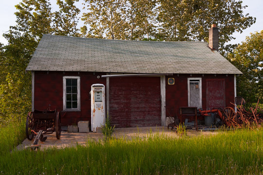 33.9 cents a Gallon -Shed (5) - Door County WI
