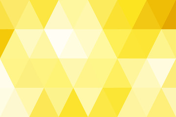 abstract triangles gold gradient for background. geometric style