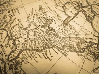 古地図 アメリカ東海岸