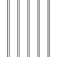 3d realistic steel prison bars. Vector illustration.