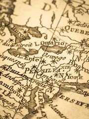 古地図 アメリカ・ペンシルバニア州