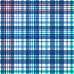 Plaid seamless pattern. Vector