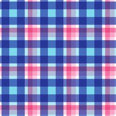 Plaid seamless pattern. Vector