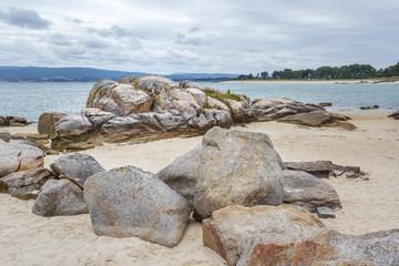 Rocks on Salinas beach