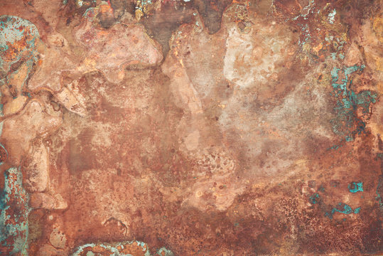 Old copper texture