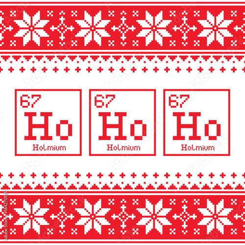 Geek christmas seamless pattern ho ho ho chemistry periodic table geek christmas seamless pattern ho ho ho chemistry periodic table background ugly xmas sweater urtaz Images