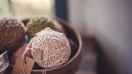 Knitting Yarn Ball