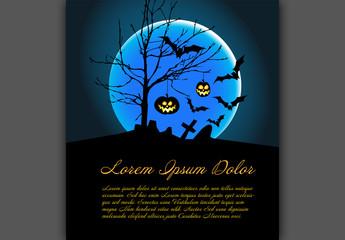 Illustrated Halloween Banner 1