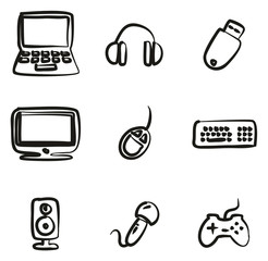 Computer Icons Freehand