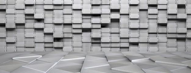 3D Metal Room