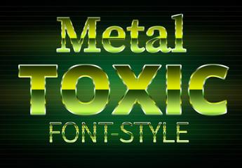 Radioactive Text Style 2