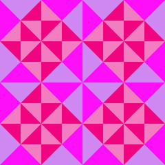 Seamless  background with colored triangles.