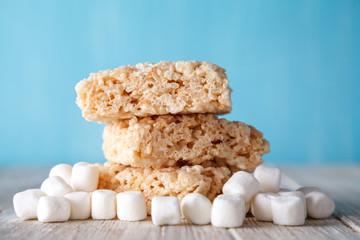 Rice Crispy Treat With Marshmallows