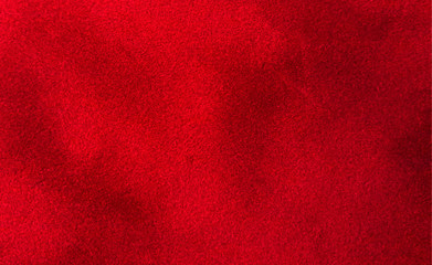 Red thick luxury velvet background texture