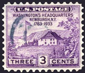 Washington's Headquarters Newburgh, NY, Postage Stamp