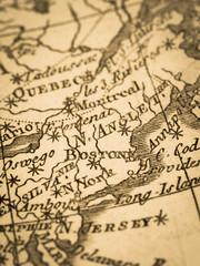 古地図 アメリカ・ボストン