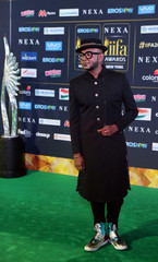 Singer Benny Dayal poses for a picture on the Green Carpet at the International Indian Film Academy Rocks show at MetLife Stadium in East Rutherford