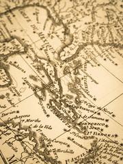 古地図 ラテンアメリカ