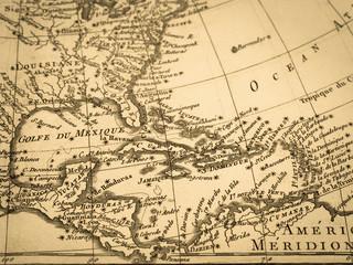 古地図 中央アメリカ