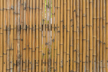 bamboo fence wall texture pattern for background