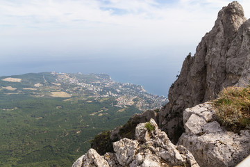 View of the village of Gaspra, Crimea