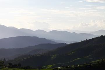 Natural Spring landscape on Maejam Chiang Mai,  Thailand.