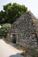 Bories antiche abitazioni dell'età del bronzo In Provenza, Francia