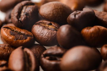 coffee beans for background