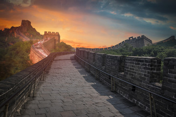 Canvas Prints Great Wall great Chinese wall