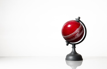 cricket balll world globe
