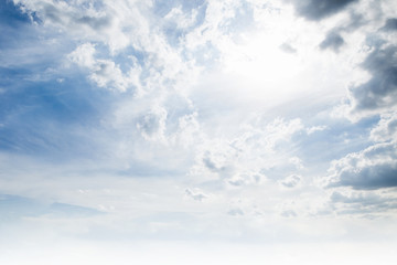 The clouds and skies backgrounds