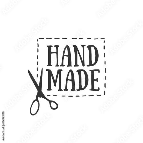 Knitting Club Logo : Quot handmade badges labels and logo elements retro symbols