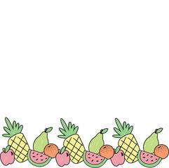 Vector illustration of fruit