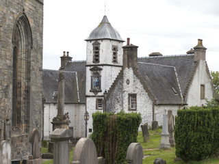 Cowane's Hospital in the Old Town of Stirling, Scotland
