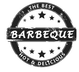 barbeque stamp