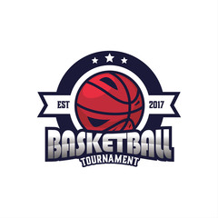 Basketball Sport Logo Emblem, Logo Template Designs