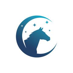 Horse Symbol Logo Template