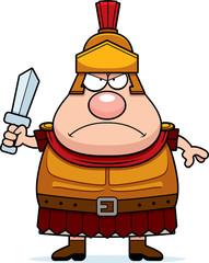 Angry Cartoon Roman Centurion