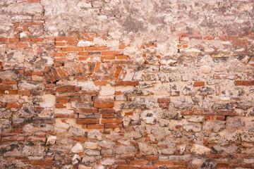 Alte Ziegelwand als Hintergrund