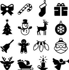 Christmas Icons - Black Series